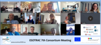 Participants of ESOTRAC's 7th but 1st virtual consortium meeting